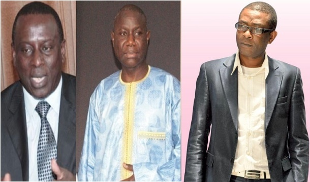 Présidentielle de 2012: Youssou Ndour, Gadio et Bara Tall, ce trio qui risque de faire mal