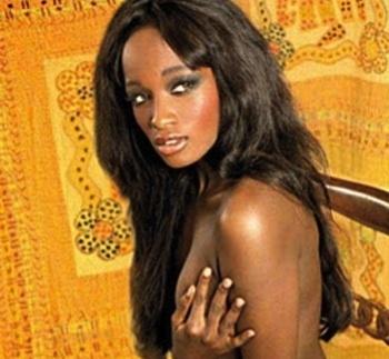 Bruna Ndiaye, la Sénégalaise qui a posé nu pour un magazine italien
