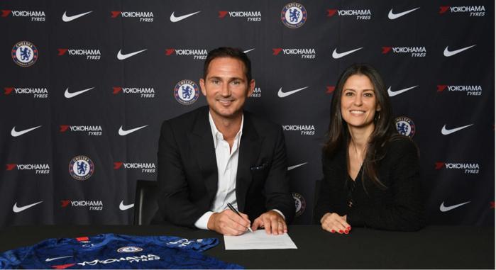 Chelsea : Franck Lampard nouvel entraîneur des « Blues »