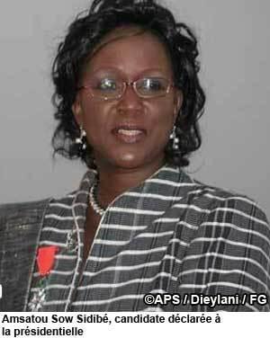 Amsatou Sow Sidibé lance un appel aux forces vives de la nation