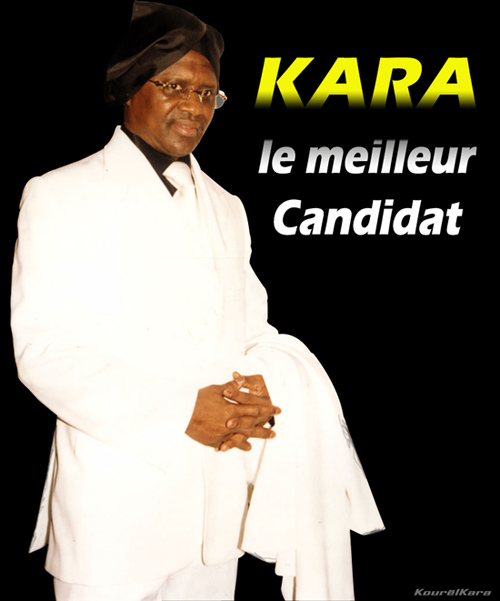 Cheikh Ahmad Kara, le meilleur candidat.