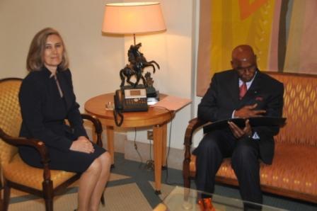 Confidences de la représentante de l'Union Européenne au Sénégal.