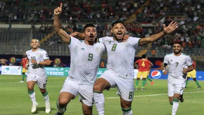 CAN 2019 / 8èmes de finale : l'Algérie se qualifie facilement en quarts devant la Guinée corrigée (3-0)
