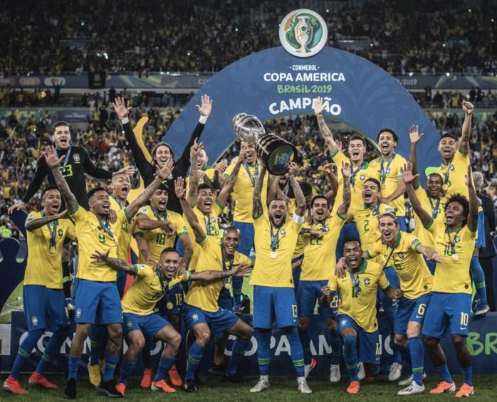 Copa America : Le Brésil sacré champion à domicile face au Pérou (3-1)