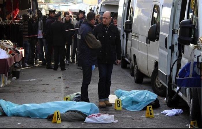 Italie :  Deux Sénégalais tués et un troisième gravement blessé  (PHOTOS)