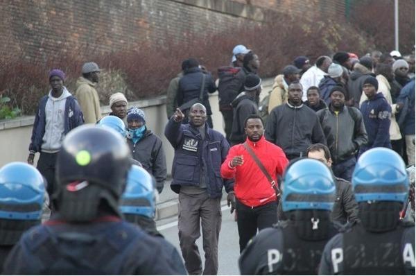 Photos-VIDEO: La colère des modou-modou après l'assassinat de deux Sénégalais par un Italien à Florence