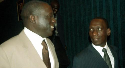 Mamadou Diop Decroix tend la main à Landing Savané