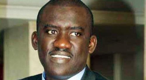 Moussa Tine, candidat à la présidentielle de 2012