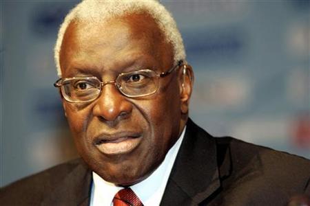 Lamine Diack se défend face à la sanction du Cio