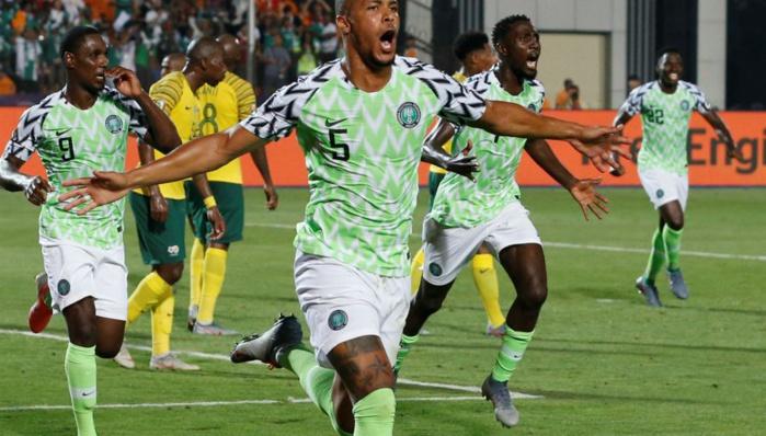 CAN 2019 : Le Nigeria s'impose à l'expérience face à l'Afrique du sud (2-1) et rejoint le dernier carré.