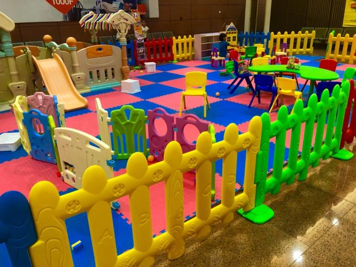 Aéroport International Blaise Diagne : un espace féérique pour les enfants