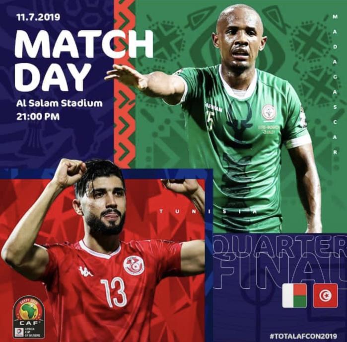 CAN 2019 / ¼ de finale Tunisie – Madagascar : La révélation face à l'expérience