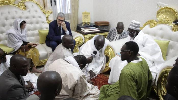 TOUBA / L'ambassadeur d'Italie à Dakar rend visite au Khalife des Mourides et reçoit une délégation de «Touba Ça Kanam»