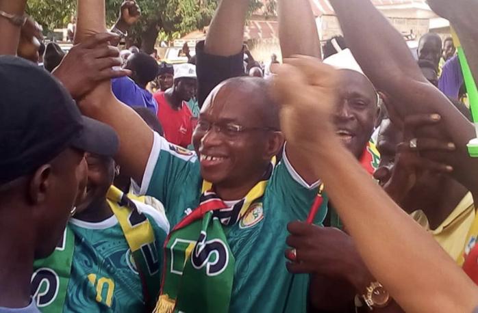 Can 2019 : Kolda en liesse après la victoire du Sénégal, le MAER Moussa Baldé en tête de file...