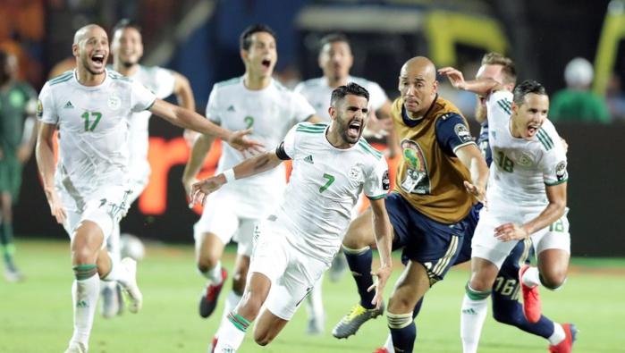 CAN-2019 : L'Algérie élimine le Nigeria sur le fil (2-1), et rejoint le Sénégal en finale