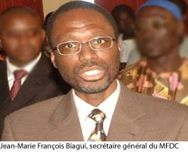 Jean-Marie François Biagui veut transformer le MFDC en parti politique