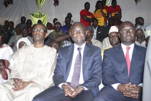 Youssou N'dour, Bara Tall et Idrissa Seck au lancement du mouvement Yamalé (PHOTOS)