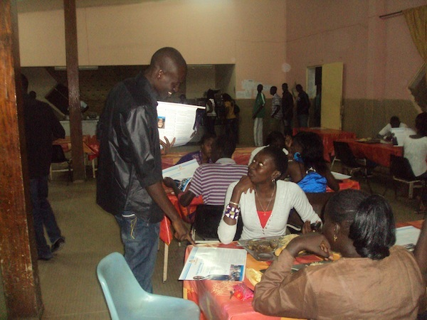Les étudiants de Rewmi de l'université Gaston Berger vulgarisent le projet de Idrissa Seck (PHOTOS)