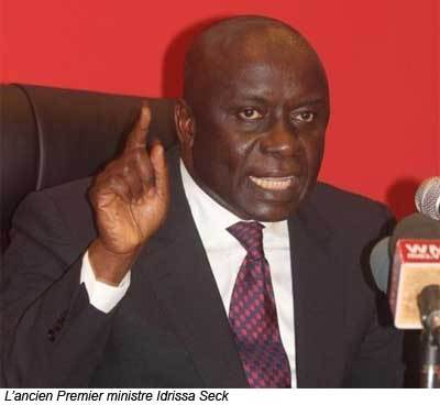 Idrissa Seck : ''J'attache trop de prix à la stabilité du pays pour le déstabiliser''