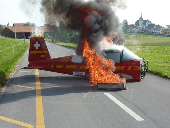 Crash d'avion ou simple simulation dans le cadre d'un exercice d'entraînement ?