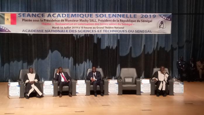 Salinisation des terres au Sénégal : L'Académie nationale des sciences et techniques, statue sur la problématique.