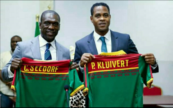 Cameroun : Le sélectionneur Clarence Seedorf et son adjoint Kluivert virés par la FecaFoot