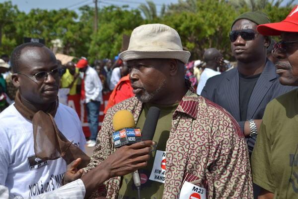 Alioune Tine: «Le congrès du peuple aura bel et bien lieu.»