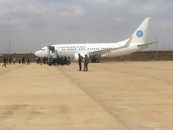 AIBD : Arrivée du président du Mali Ibrahima Boubacar Keïta