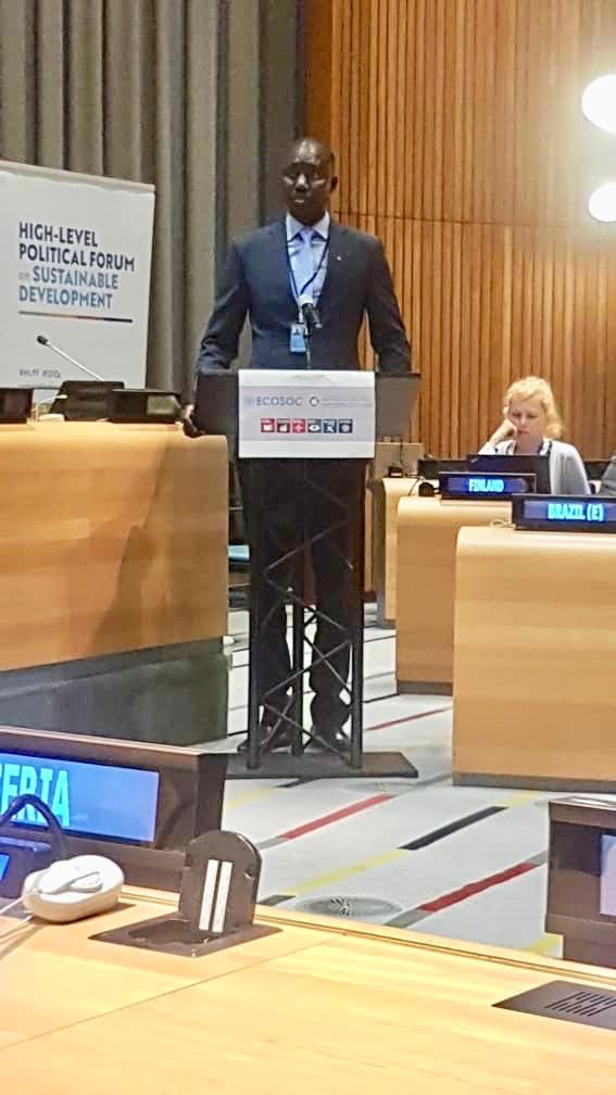 Forum Politique de Haut Niveau des Nations Unies sur le Développement durable 2019 : partage de l'expérience sénégalaise lors de la journée africaine