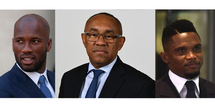 CAF : Drogba et Eto'o désignés nouveaux collaborateurs du président Ahmad Ahmad
