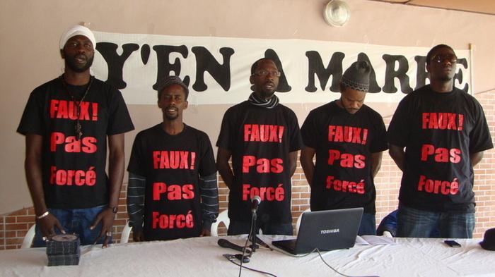 """Découvrez le nouveau single """"Faux ! Pas forcer"""" du mouvement  """"Y en a marre """" (AUDIO)"""