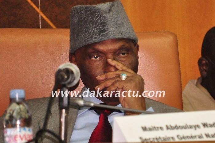 Les militants du PDS appelés à veiller au ''plein succès'' de l'investiture d'Abdoulaye Wade