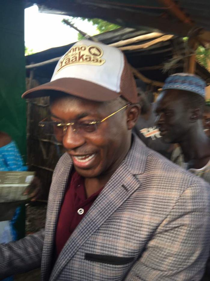 Abdou Ndiaye (Apr-Keur Maba) : ' Le football a réussi à transcender les clivages politiques... Et Matar Bâ a aussi réussi..'