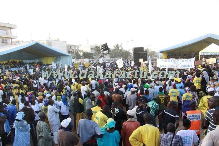 La mobilisation de l'Alliance sopi pour toujours en images (PHOTOS)
