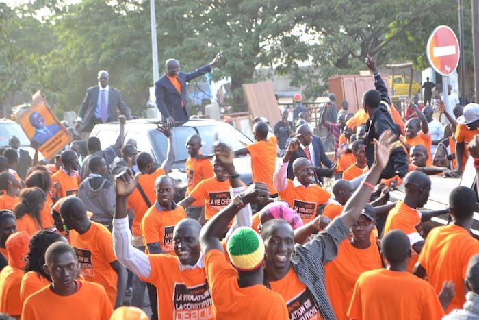 Idrissa Seck au 'congrès du peuple' organisé par le M23 (PHOTOS)