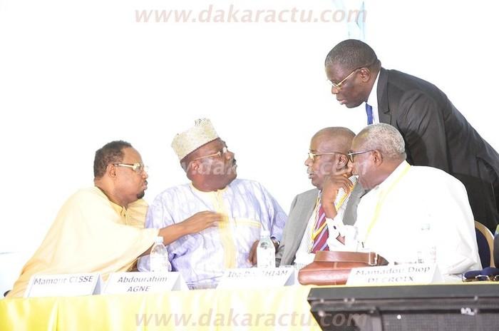 Les images de la dispute entre Mamour Cissé et Babacar Gaye