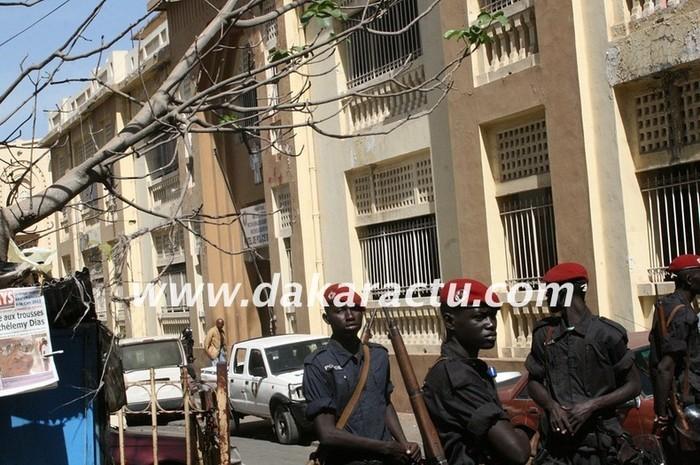 Affaire Ndiaga Diop : Barthélemy Dias a passé sa première nuit hier au Commissariat central
