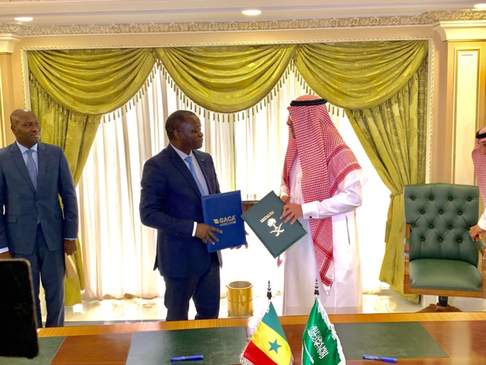 Signature d'accord de services aériens entre le Sénégal et l'Arabie Saoudite : Le vol direct Dakar-Djeddah redevient disponible