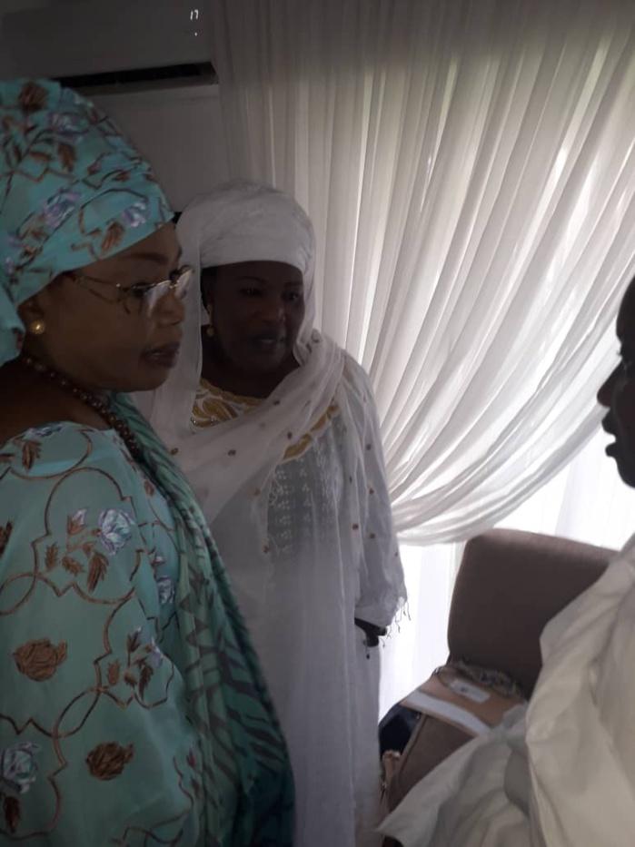 Présentation de condoléances : Les Femmes de Benno Bokk Yakaar chez Ousmane Tanor Dieng