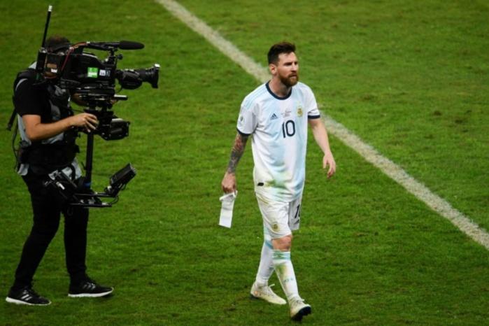 Propos polémiques à la Copa America : Un match de suspension et 1500 dollars d'amende pour Lionel Messi