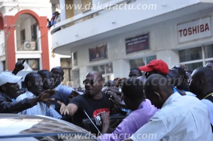 Dernière minute : Barthélémy Dias en route vers la mairie de Sicap Mermoz