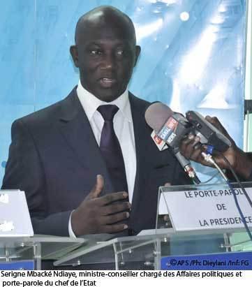 En conférence de presse, Serigne Mbacké Ndiaye assure que l'Etat ne protégera personne et que la justice fera son travail sans contrainte.