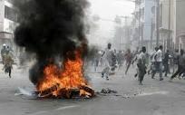 Alerte chaude à Cambérène: des jeunes de l'opposition mettent le feu