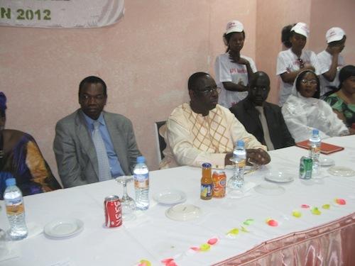 Forte mobilisation pour Macky Sall à Nouakchott.