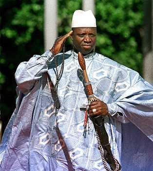Le président gambien Yaya Jammeh bientôt en visite à Dakar