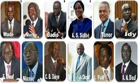 Lettre ouverte adréssée aux candidats déclarés à l'élection présidentielle de février 2012