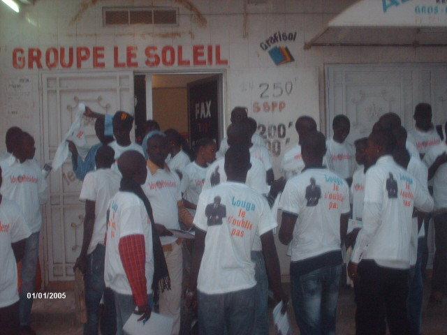 Pour élire Idrissa Seck à la présidentielle de 2012, les jeunes rewmistes de Louga investissent les places publiques et foires