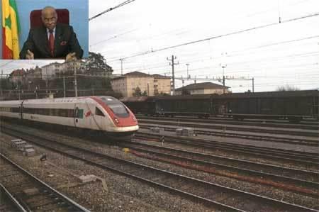 Début de réalisation d'un ''train moderne'' entre Dakar et Bamako en 2012