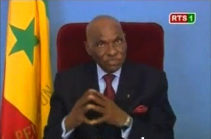 L'intégralité du discours à la nation du président Abdoulaye Wade