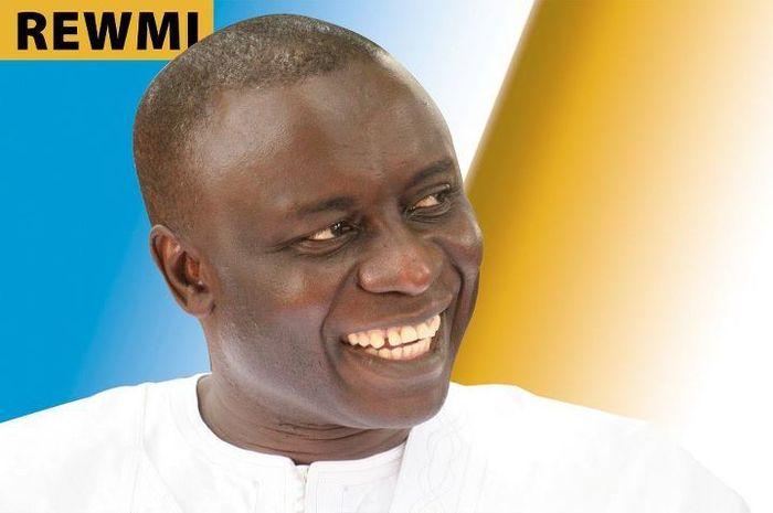 Voeux de nouvel an d'Idrissa Seck